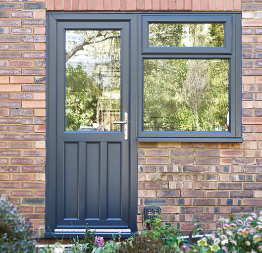 Doors back homeview windows and conservatories for Back doors for homes