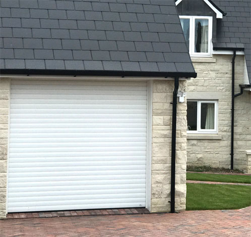 Skandoor electronic roller garage door
