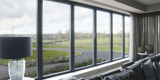 Lumi frameless windows