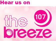 Hear our ad on the breeze 107fm